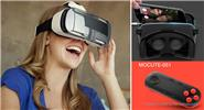 MOCUTE MOCUTE-051 Bluetooth V3.0 VR 3D Goggles Game Controller/Gamepad