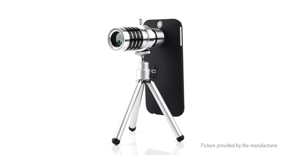 Telescope tripod back case for iphone at fasttech