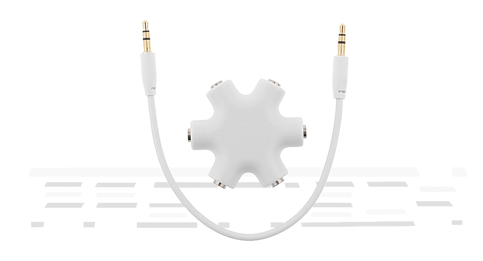 Product Image: 6-in-1-3-5mm-audio-splitter-adapter