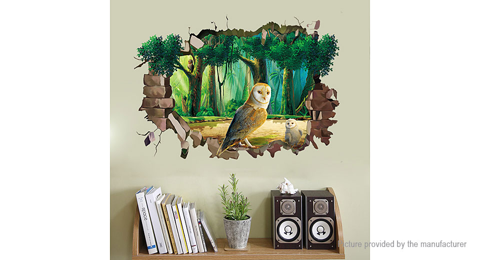 Virtual Window Styled Wall Sticker Decoration Decal