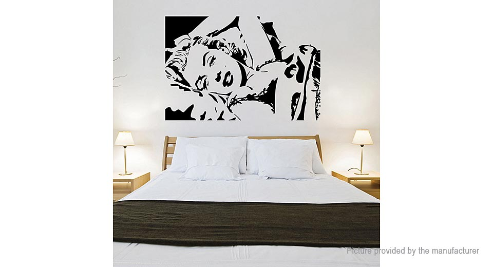 Marilyn Monroe Styled Removable Wall Sticker Home