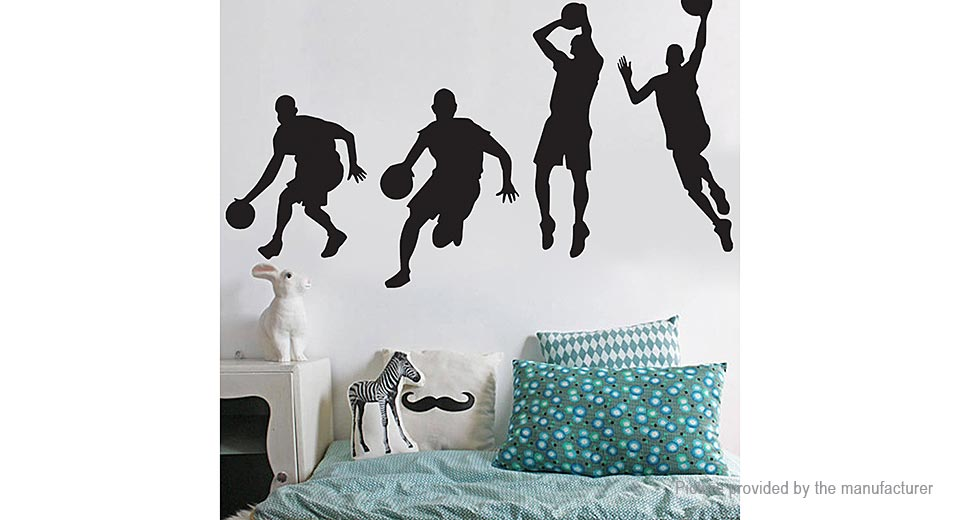 Michael Jordan Styled Removable Wall Sticker Home Decor (Size L)