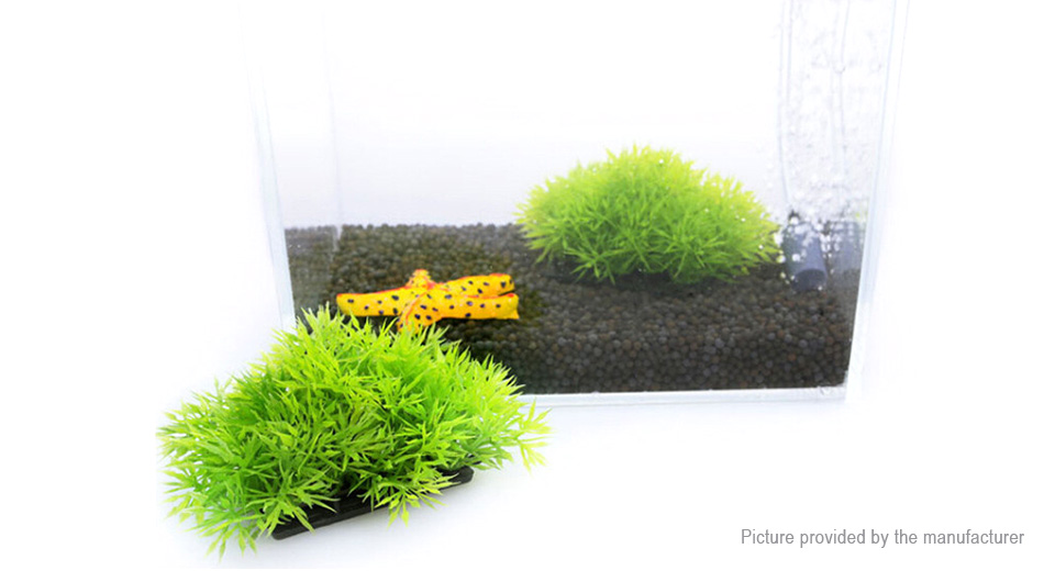Artificial Pine Needle Styled Fish Tank Decor Aquarium Landscape Decoration