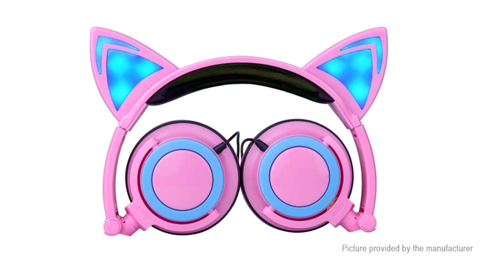 Product Image: cat-ear-styled-folding-headphone