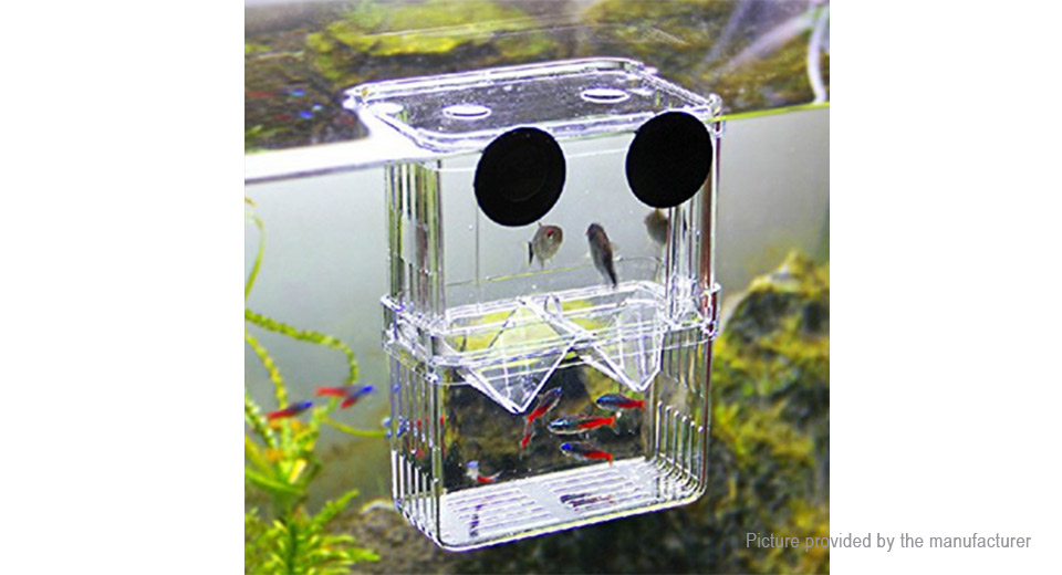 Product Image: self-floating-aquarium-fish-breeder-isolation-box