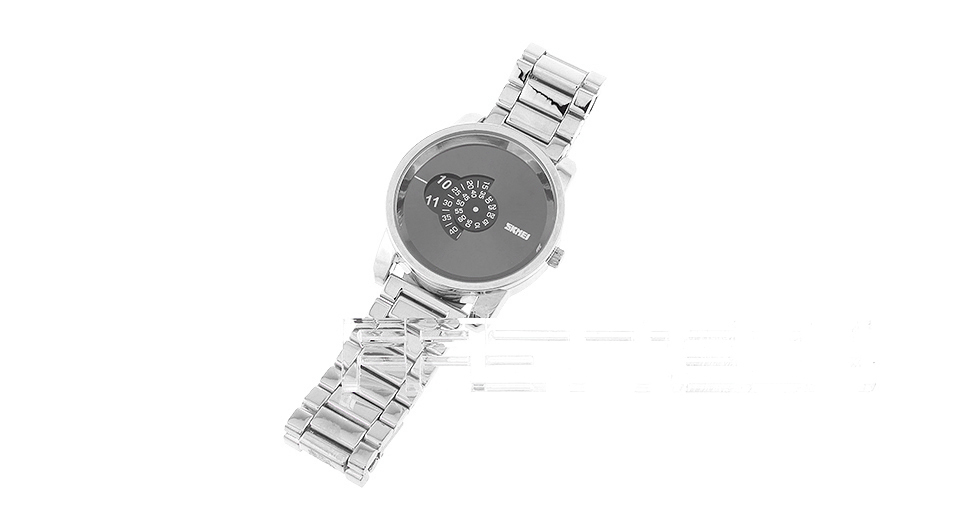 Skmei 1171 Men's Creative Rotary Dial Quartz Wrist Watch