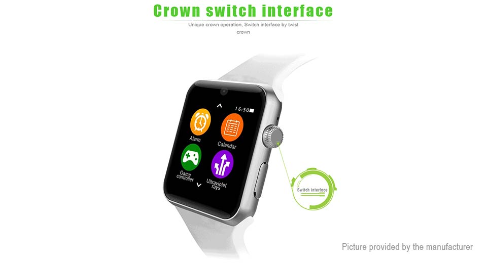 """$47.48 ORDRO SW25 1.54"""" IPS Touch Screen GSM Smart Watch ..."""