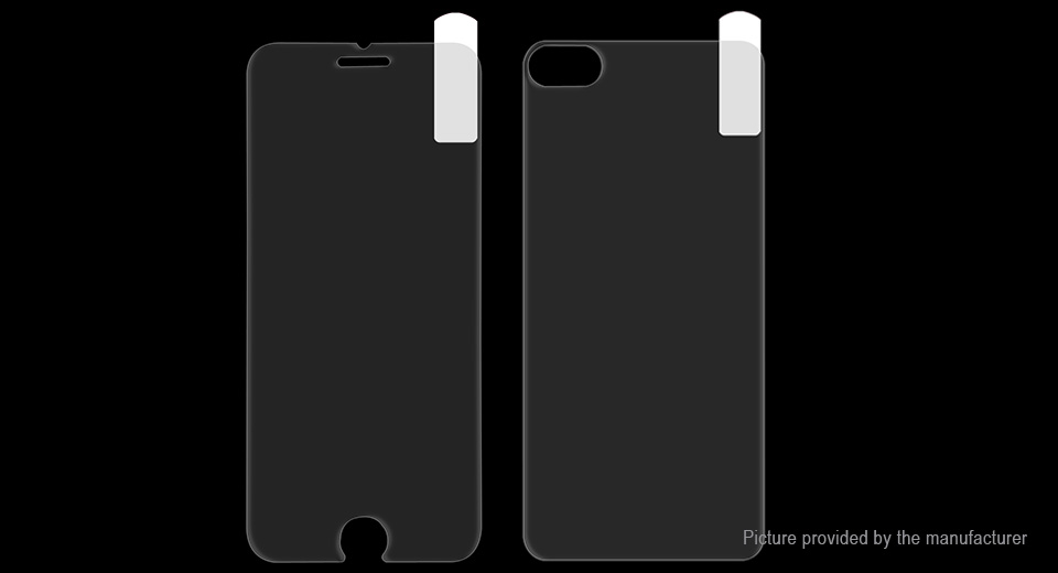 pretty nice 3f6d8 6792b Hat.Prince Front & Back Tempered Glass Screen Protectors for iPhone 7 Plus