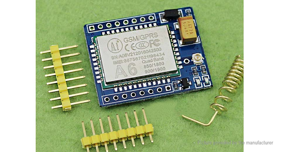A6 Mini GPRS GSM Wireless Extension Module Board