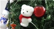 Bear Styled Christmas Tree Decoration Hanging Ornament
