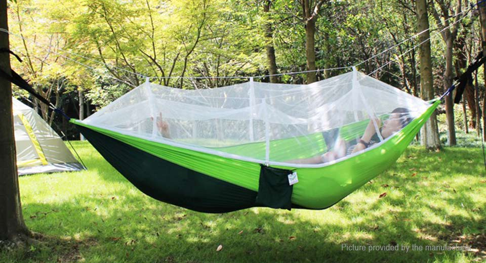 Outdoor Mosquito Net Double Hammock Hanging Swing Bed Tent (260*130mm) ... & $23.31 Outdoor Mosquito Net Double Hammock Hanging Swing Bed Tent ...