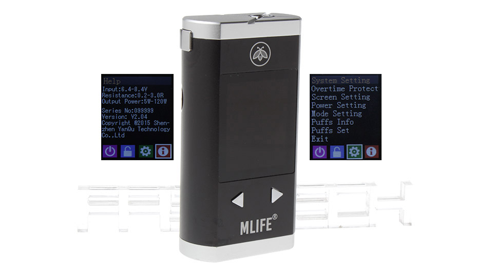 Product Image: authentic-mlife-m120s-120w-tc-vw-pav-box-mod