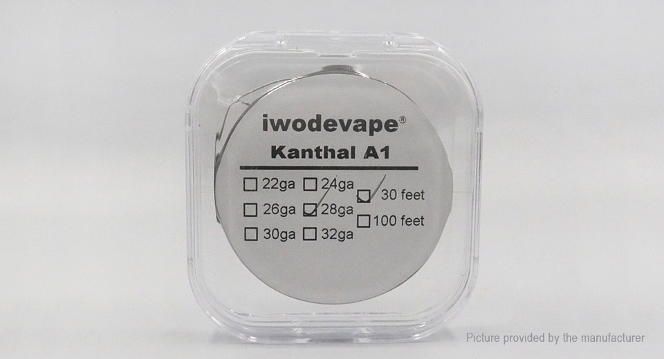 $2.45 Iwodevape Kanthal A1 Heating Wire for RBA Atomizer - authentic ...