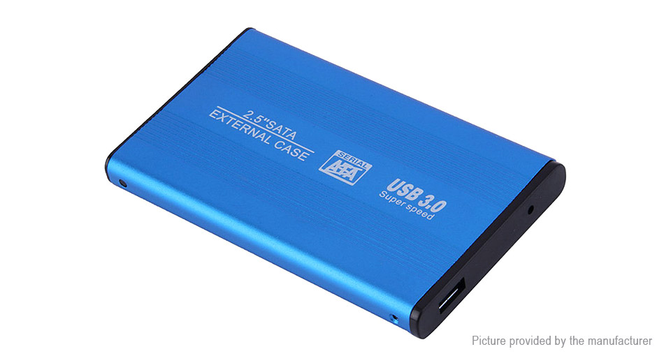 "TLS 2.5"" SATA I/II USB 3.0 SSD External Enclosure Case"
