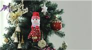 Snowman Gloves Styled Christmas Tree Decoration Hanging Ornament