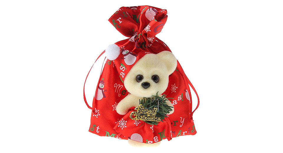 Product Image: bear-styled-christmas-gift-holder-pouch-candy-bag