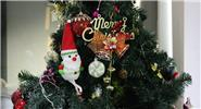 Snowman Styled Christmas Tree Decoration Hanging Ornament