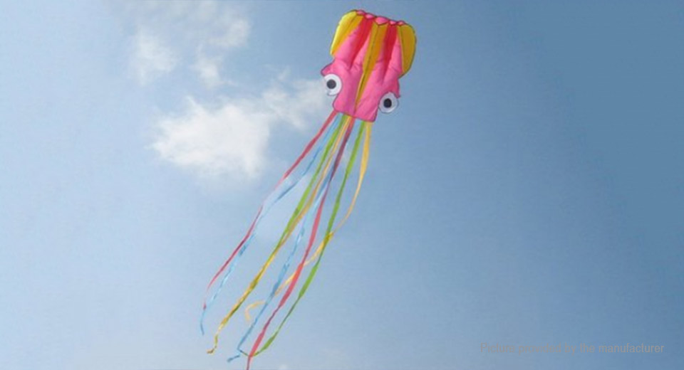 Product Image: 4m-octopus-soft-frameless-flying-kite-random-color