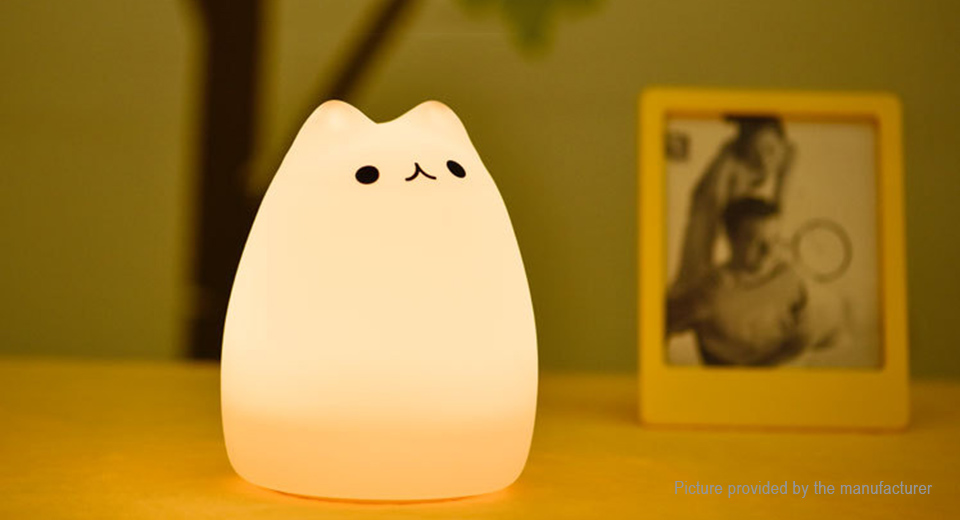 Product Image: cat-styled-usb-rechargeable-color-changing-led