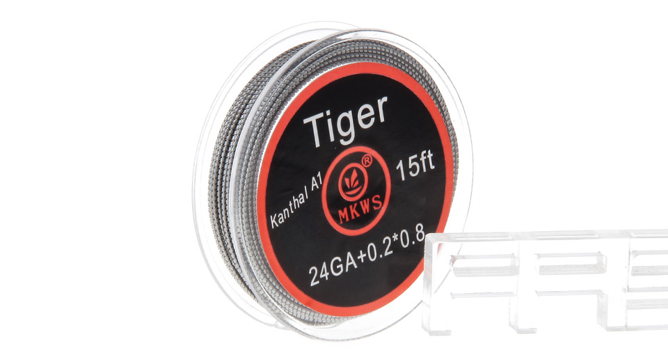 Authentic MKWS Kanthal A1 Tiger Heating Wire for RBA Atomizers