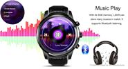 "LEMFO LEM5 1.39"" IPS Touch Screen 3G Smart Watch Phone"