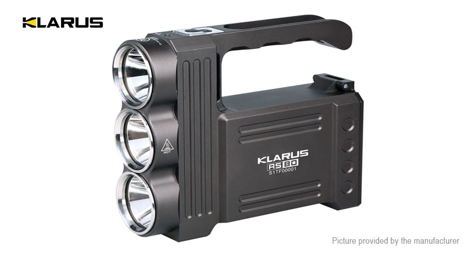 Product Image: authentic-klarus-rs80-led-flashlight