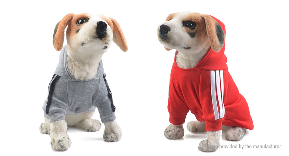 Pet Dog Warm Cotton Jumpsuit Hoodie Coat (Size XL)