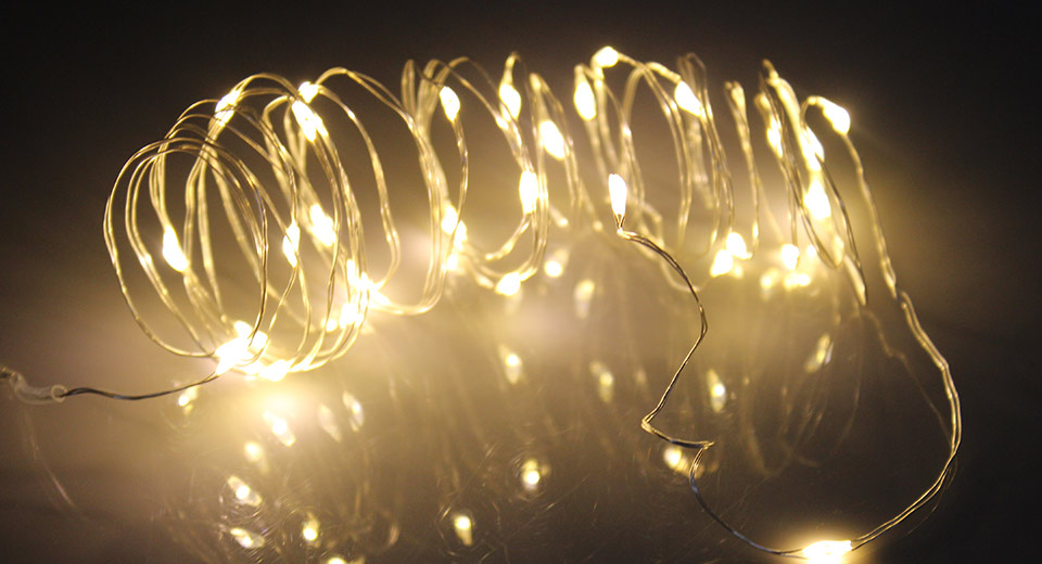 30*LED Silver Wire Christmas Decorative String Light (3m)