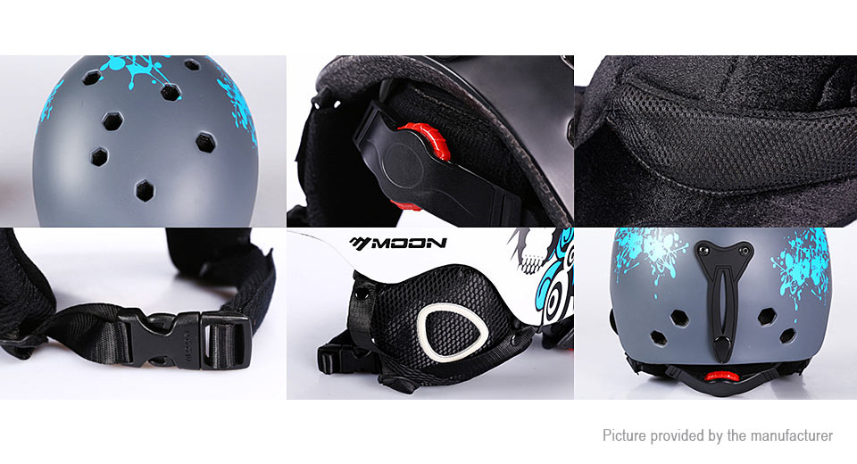 Moon MTV-18 Outdoor Snow Sports Ski Helmet (Size L)