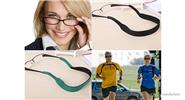 Sports Sunglasses Eyeglasses Glasses Strap Neck Cord (4-Pack)