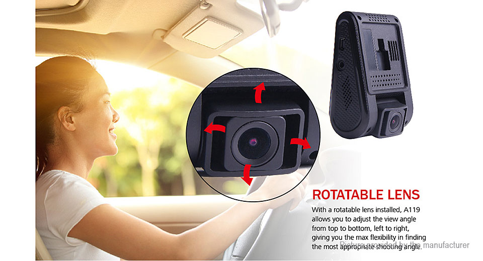 Authentic VIOFO A119 1080p Car Dashcam HD Camera DVR Camcorder