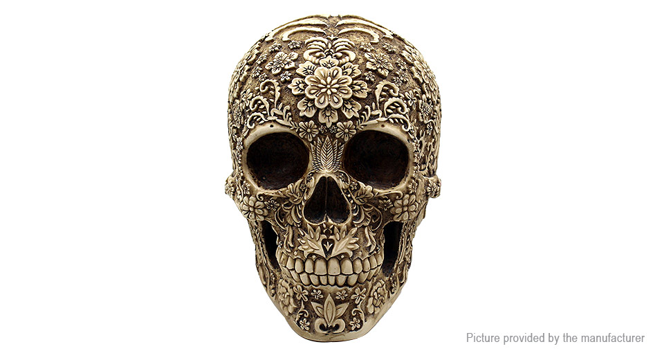 Product Image: flower-skull-head-home-office-decoration-desktop