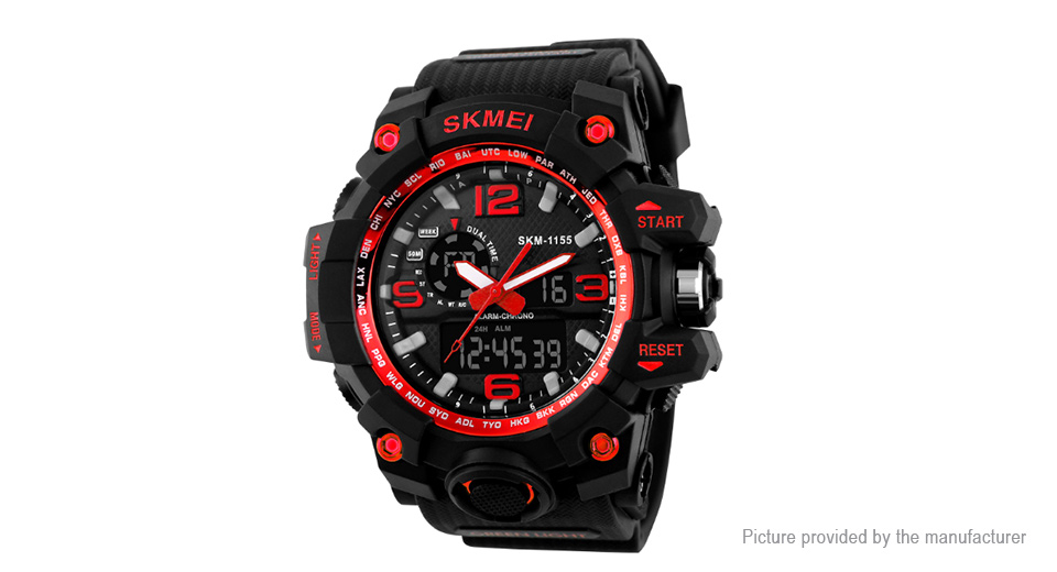 Authentic Skmei 1155 Men's LED Digital Quartz Wrist Watch