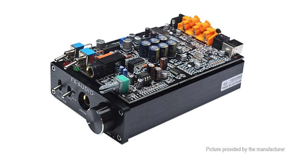 FX-AUDIO DAC-X6 HiFi Digital Audio Amplifier DAC Decoder (EU)