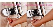Wall-mounted Manual Liquid Soap Dispenser Bathroom Shampoo Box (2*500ml)