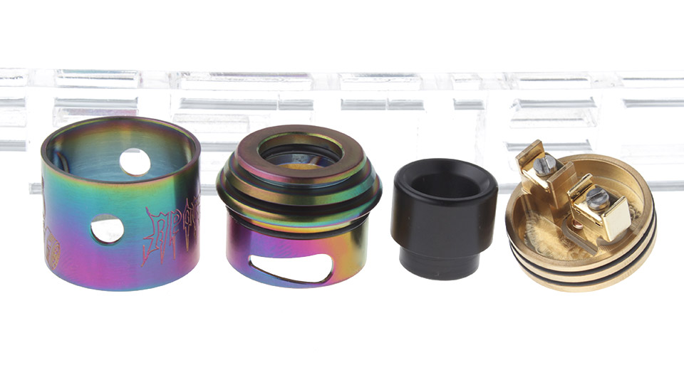 $8.37 Apocalypse GEN 2 Styled RDA Rebuildable Dripping Atomizer - 304 stainless steel / 24mm ...