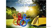 ShineTrip Tent Knots Hook Rope Buckle Stopper (10-Pack)