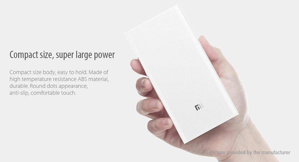 "Authentic Xiaomi Mi Power Bank 2 (3.85V ""20000mAh"")"