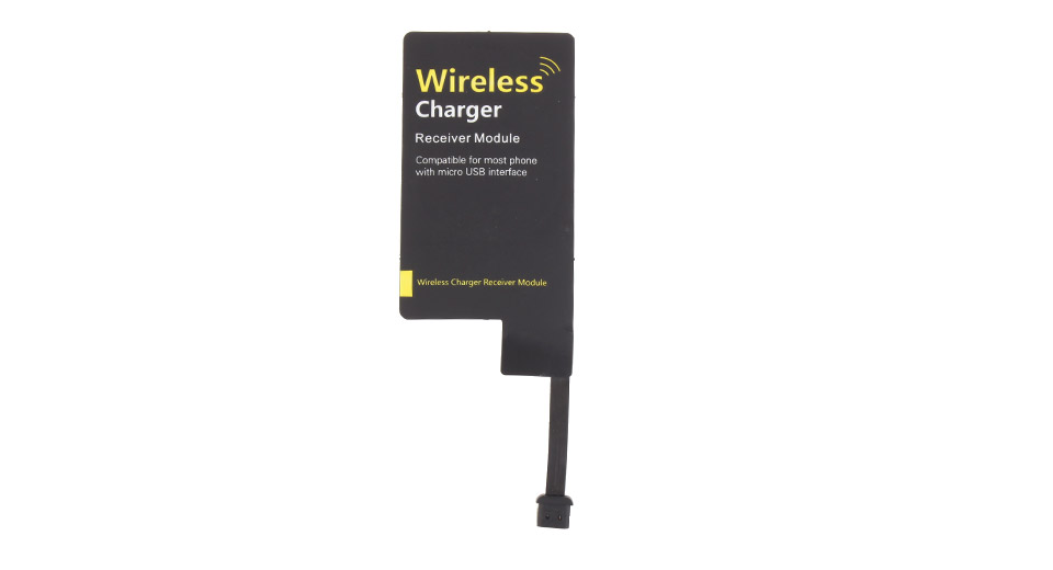 Micro-USB Qi Wireless Charger Receiver