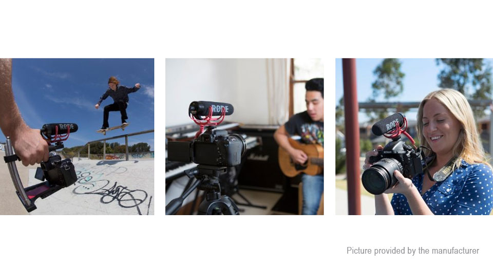 how to mount rode videomic go