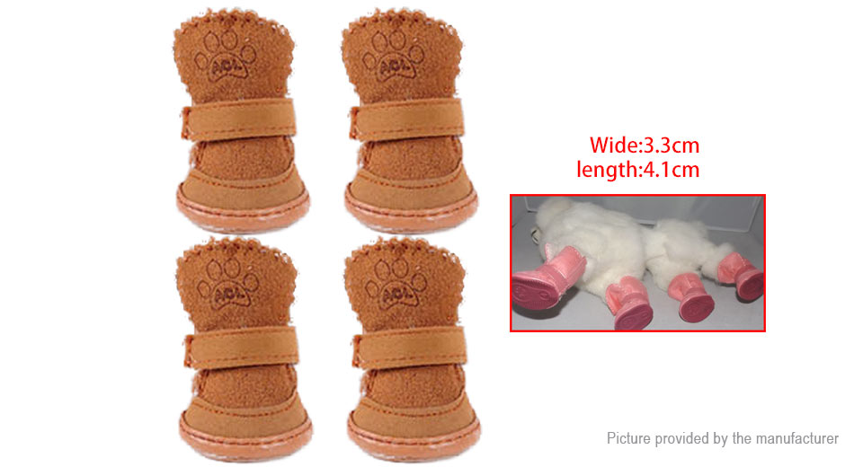 Product Image: acl-st-009-pet-dog-cat-warm-suede-shoes-footwear