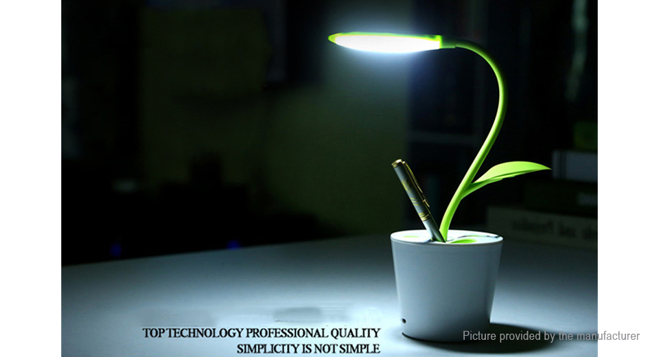 11 50 Plant Styled Usb Rechargeable Led Desk Lamp Pencil