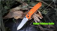 Authentic GANZO Firebird F7562-OR Stainless Steel Folding Knife