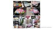 Car Motorcycle Bicycle Skateboard Laptop Luggage Decal Stickers (100 Pieces)