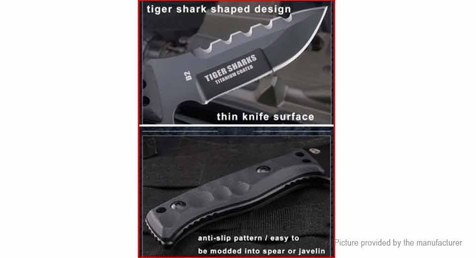 HX OUTDOORS D-141 Outdoor Survival Fixed Blade Knife