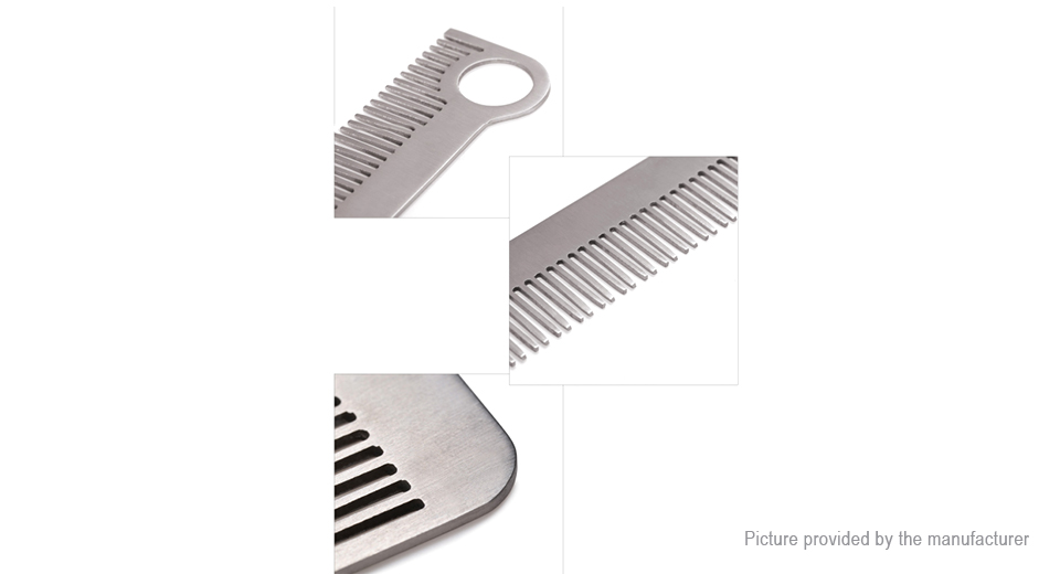 FURA Titanium Alloy Anti-static Outdoor EDC Comb