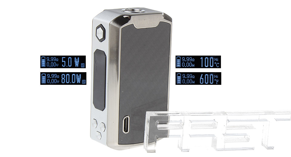 Authentic Vaporesso Tarot Nano 80W TC VW APV Box Mod