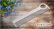 FURA Stainless Steel Anti-static Outdoor EDC Comb