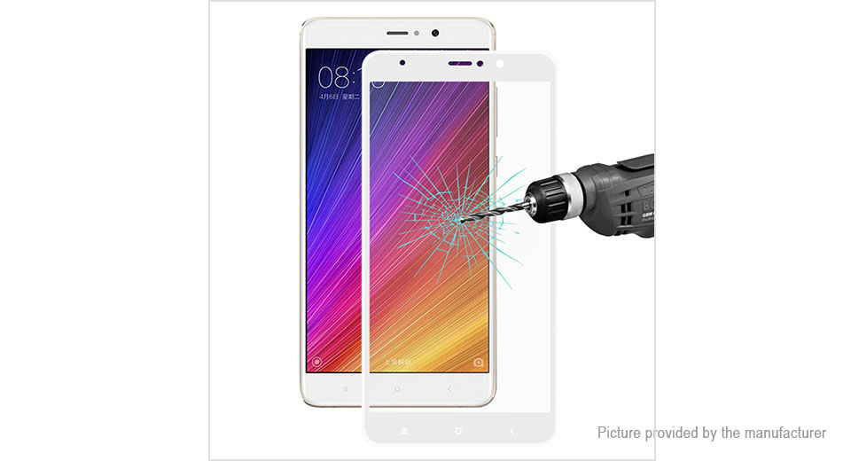 Hat.Prince 3D Tempered Glass Screen Protector for Xiaomi Mi 5s Plus