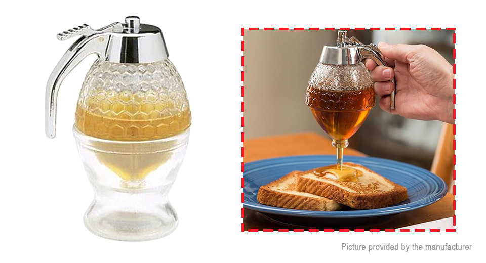 Product Image: honeycomb-dispenser-acrylic-honey-pot-gravy-boats